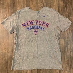 Nike New York Mets Athletic Cut Shirt